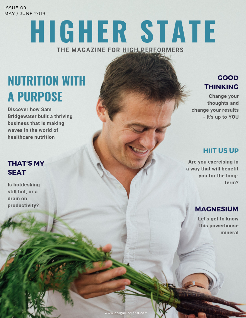 Higher State Magazine MAY 2019