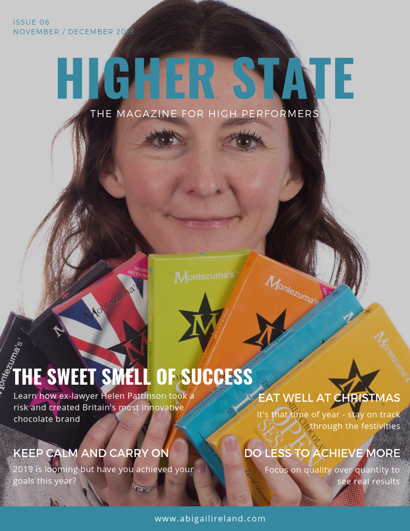 Higher State Magazine NOV 2018