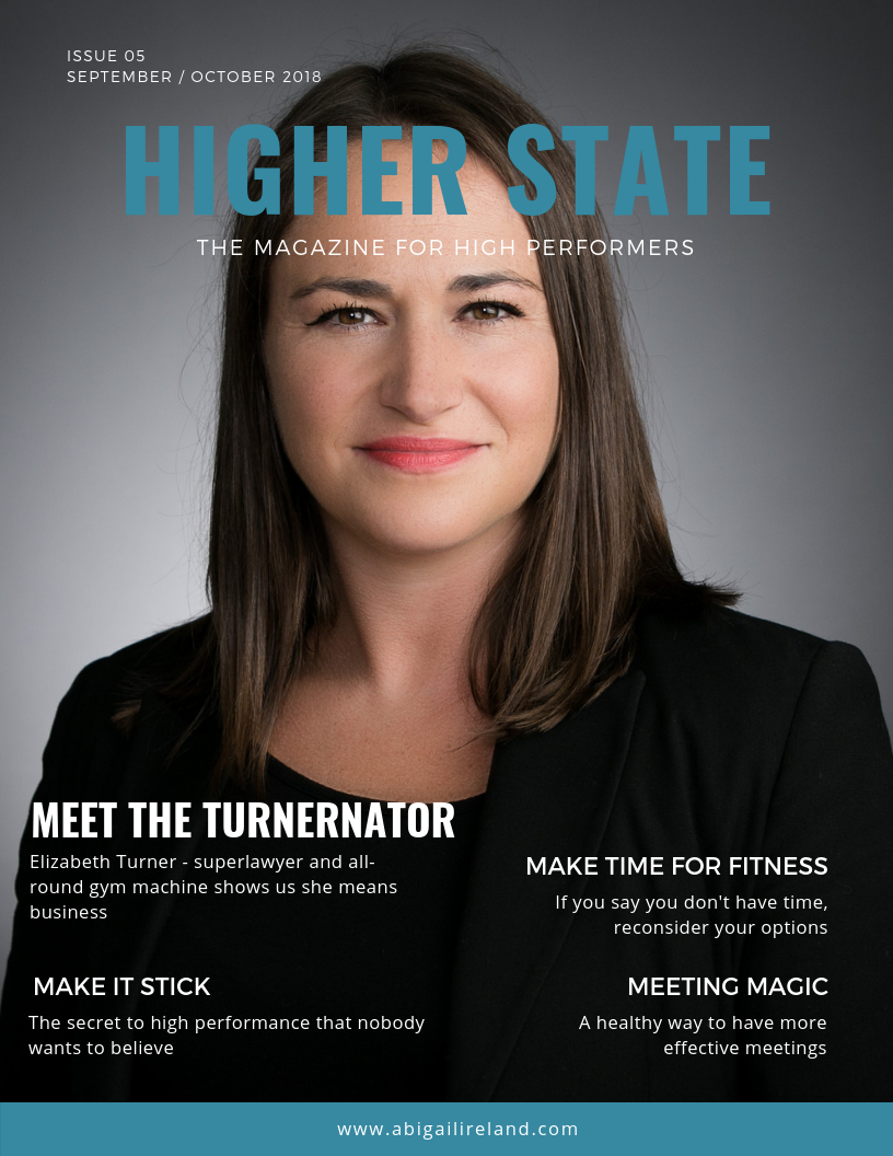 Higher State Magazine SEPT 2018