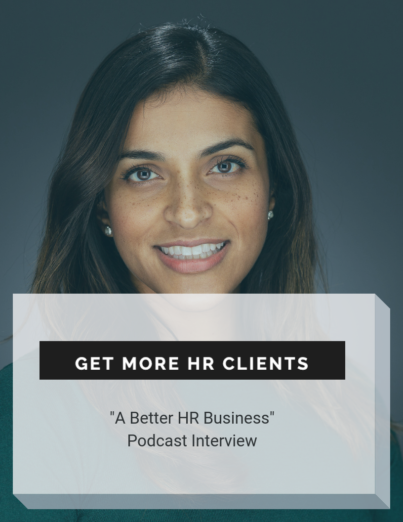 Get more HR clients podcast